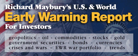 U.S. & World Early Warning Report For Investors